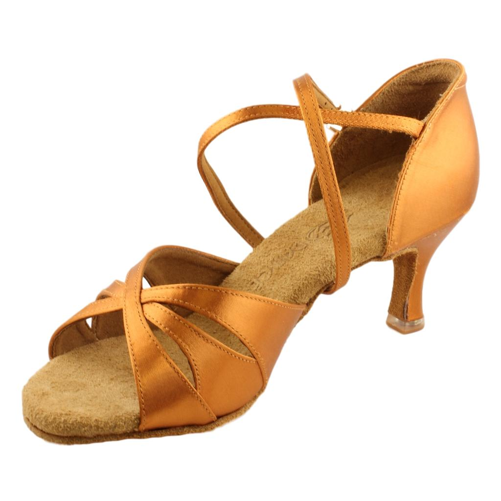 BD Dance Latin Shoes for Women, Model 2363, Heel EH10