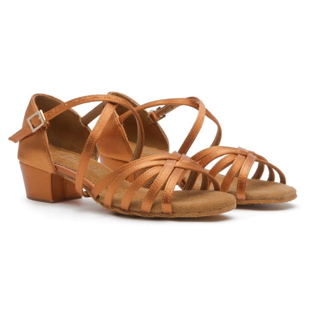 Latin Dance Shoes For Girls Model 603 Euro Glam Dance Boutique