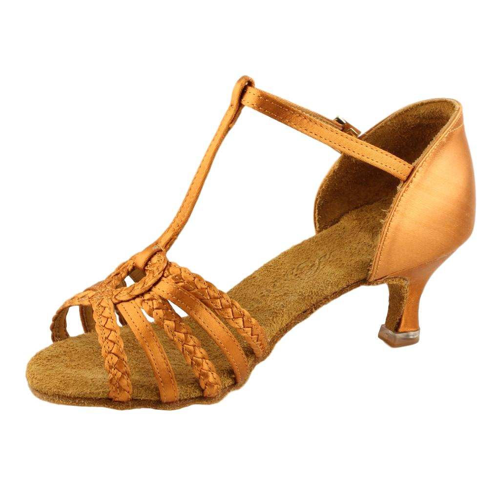 BD Dance Latin Shoes for Women, Model 2368, Heel EH11
