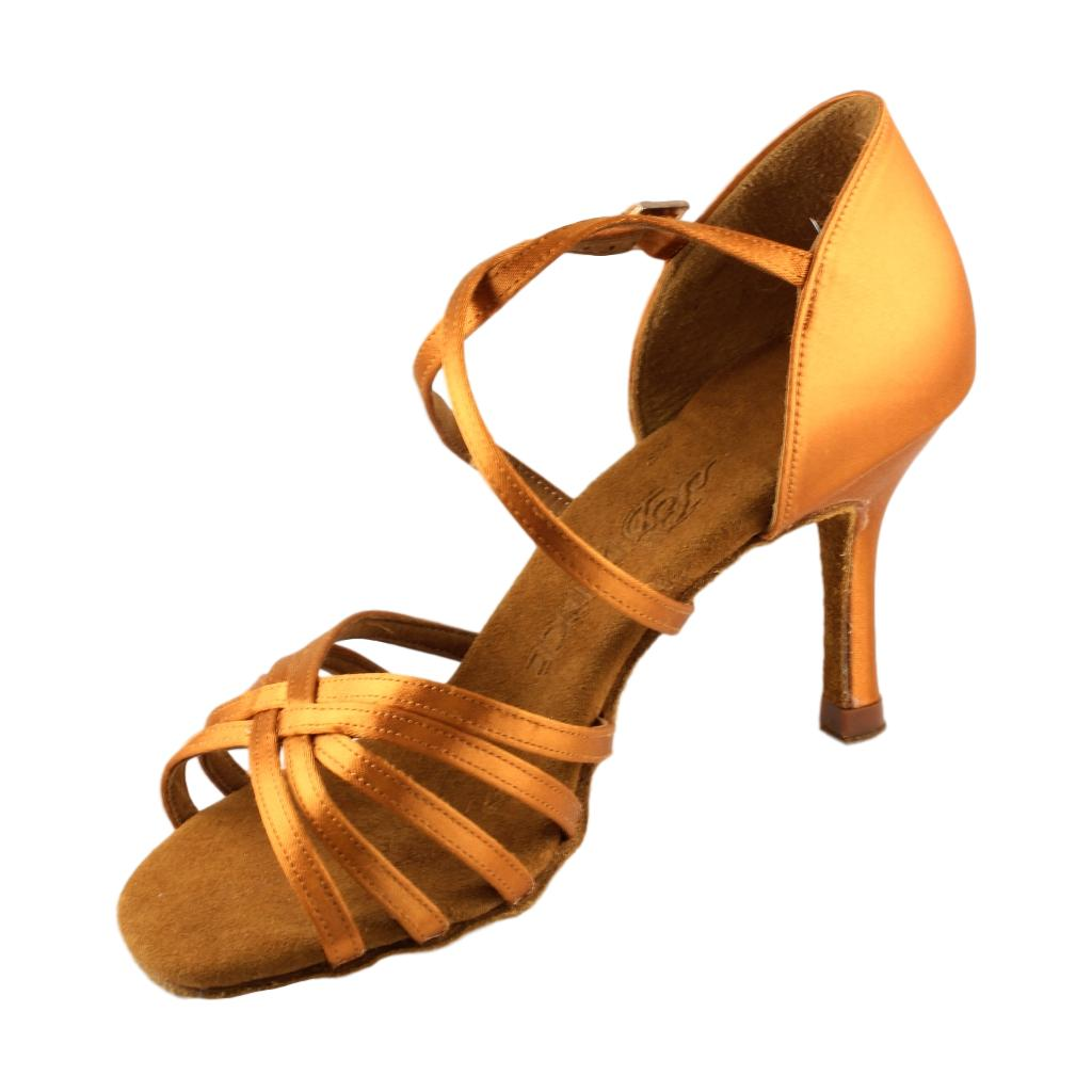 BD Dance Latin-Rhythm Dance Shoes for Ladies, Model 216, Heel EH14