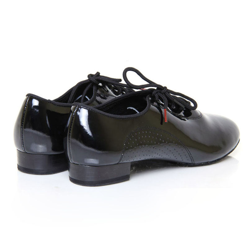 BD Dance American Smooth Dance Shoes for Men, Model 309, Black Patent Leather