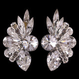 Euro Glam Earrings, Clip-On, Swarovski Crystal