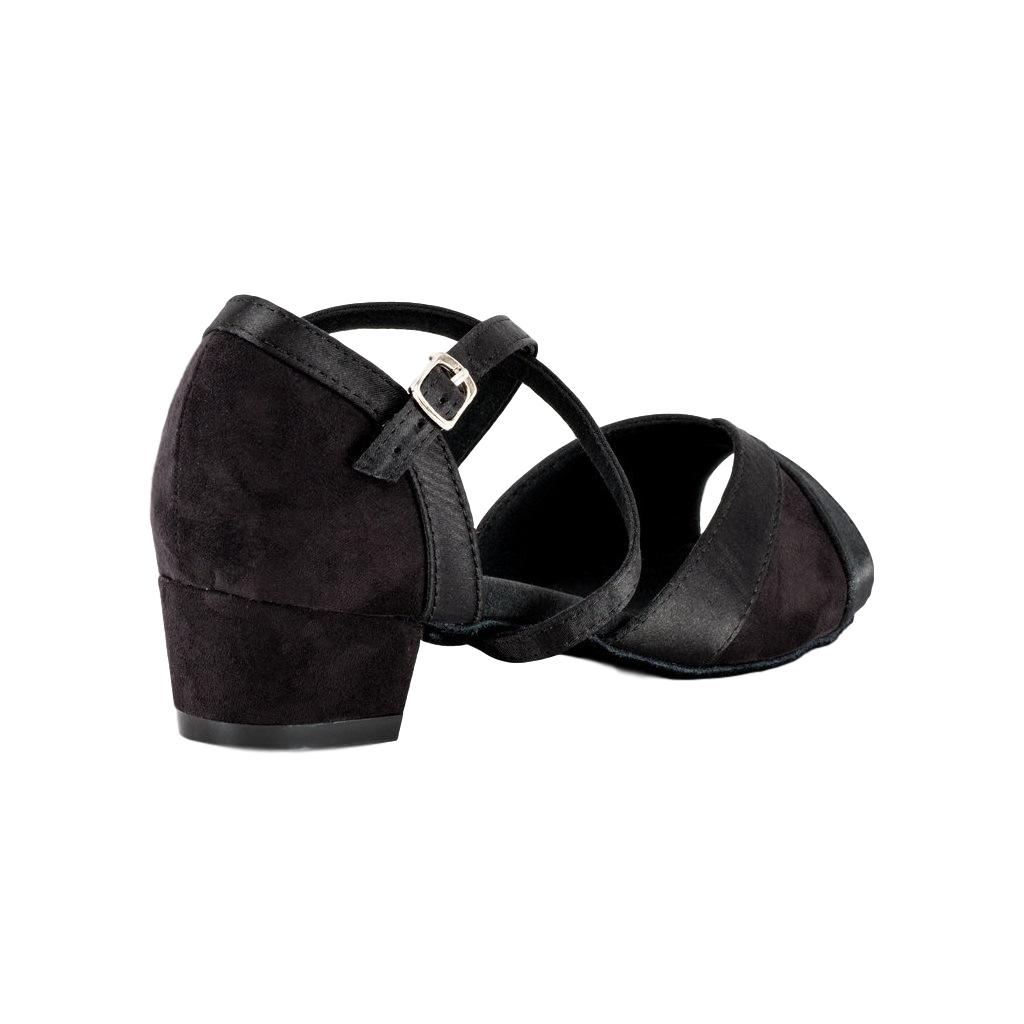 Latin Dance Shoes for Women, Model Moonstone, Black