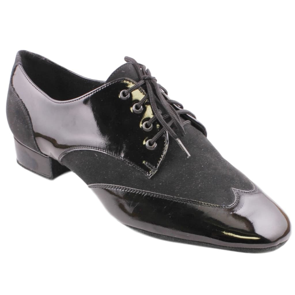 Galex Pino 1114 Smooth Dance Shoes for Men, Patent Leather