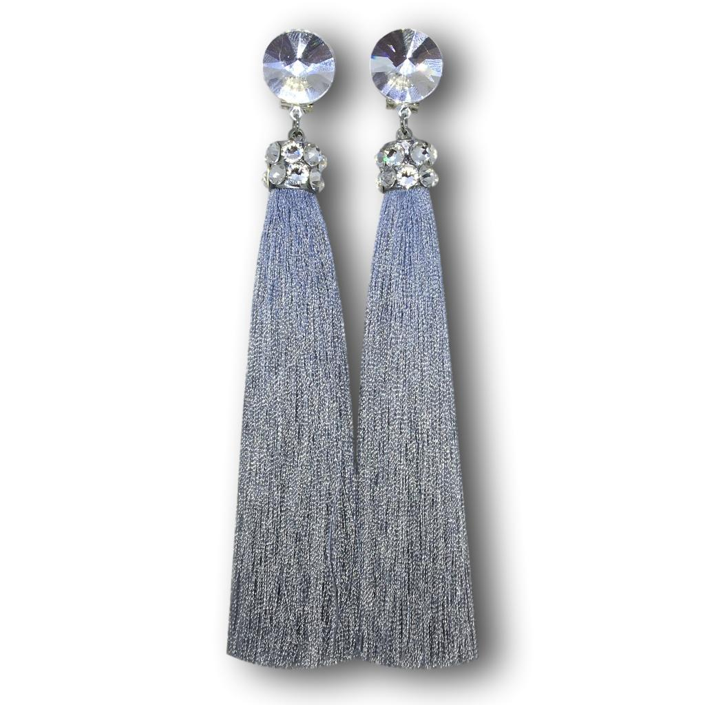 Tassels - Light Gray