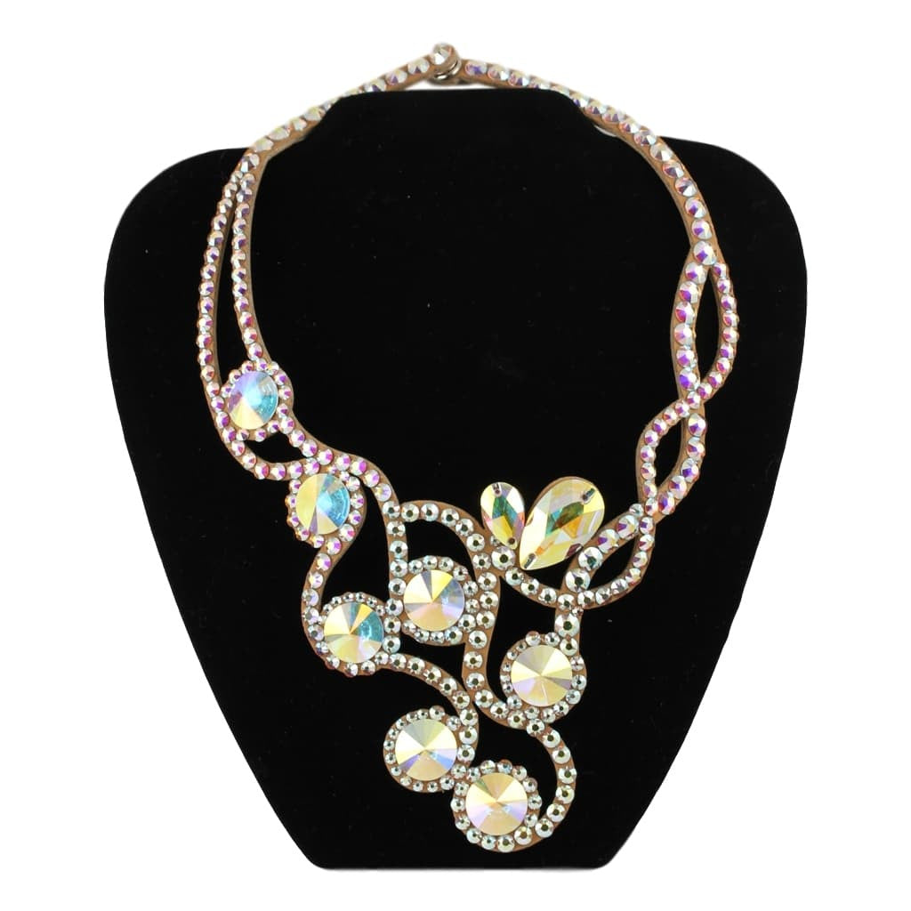 Euro Glam Ballroom Necklace, Swarovski Crystal AB