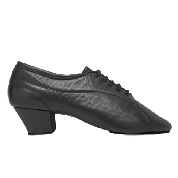 Ray Rose Latin Dance Shoes for Men, Model BW111 Bryan, Black Leather
