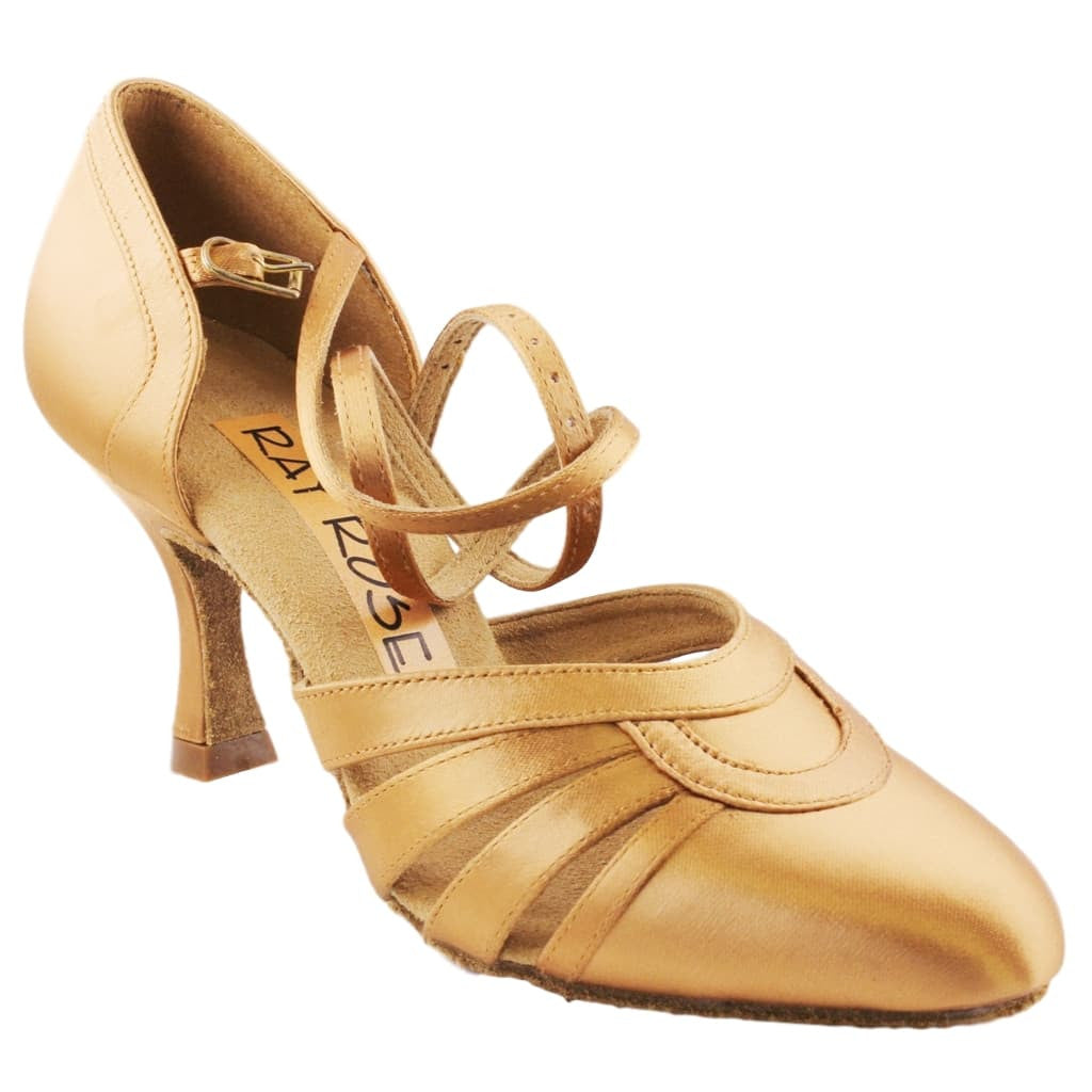 Ray Rose American Smooth Dance Shoes for Women, Model 104A Nevada, Heel 2.5""