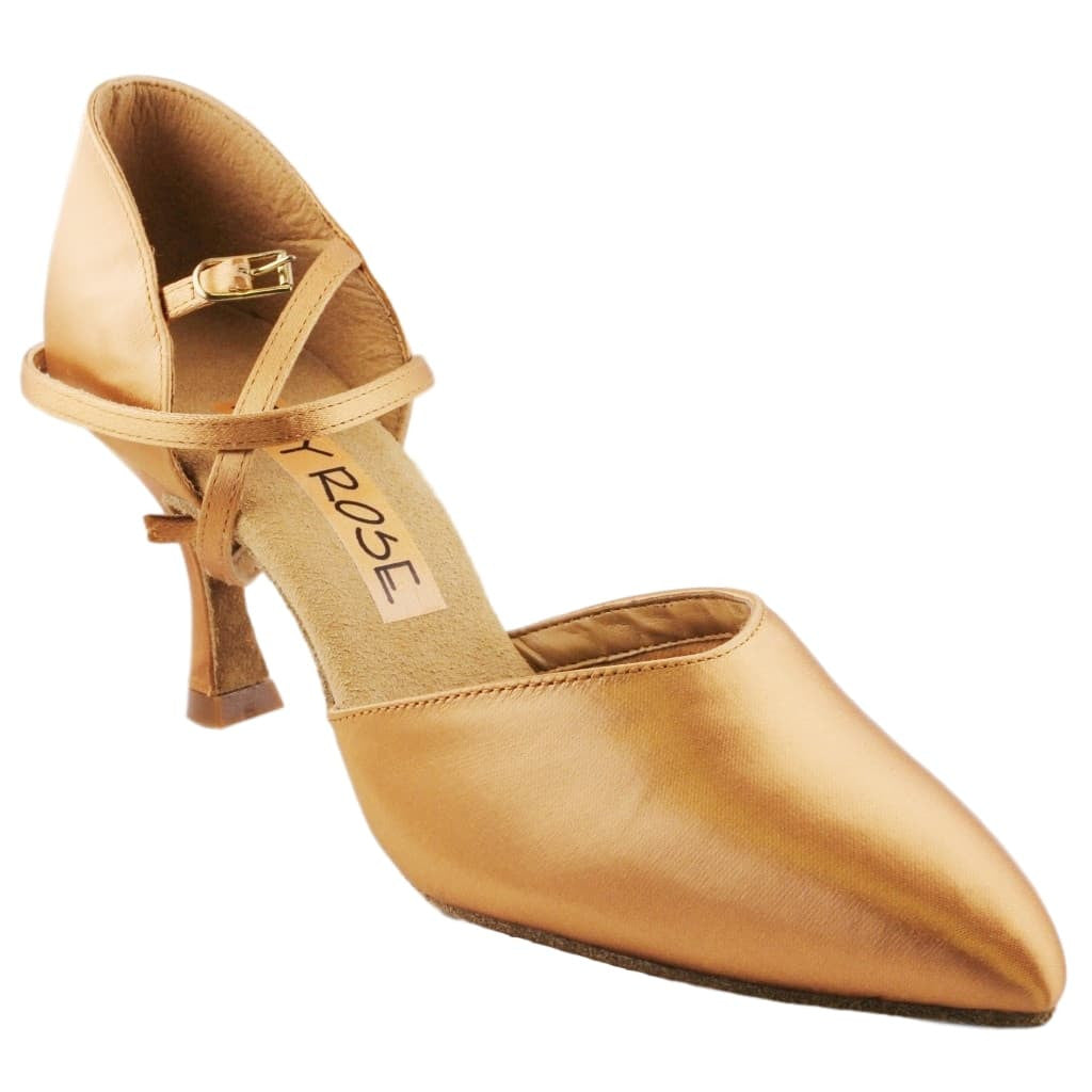 Ray Rose American Smooth Dance Shoes for Women, Model 103 Sirocco, Heel 2.5""