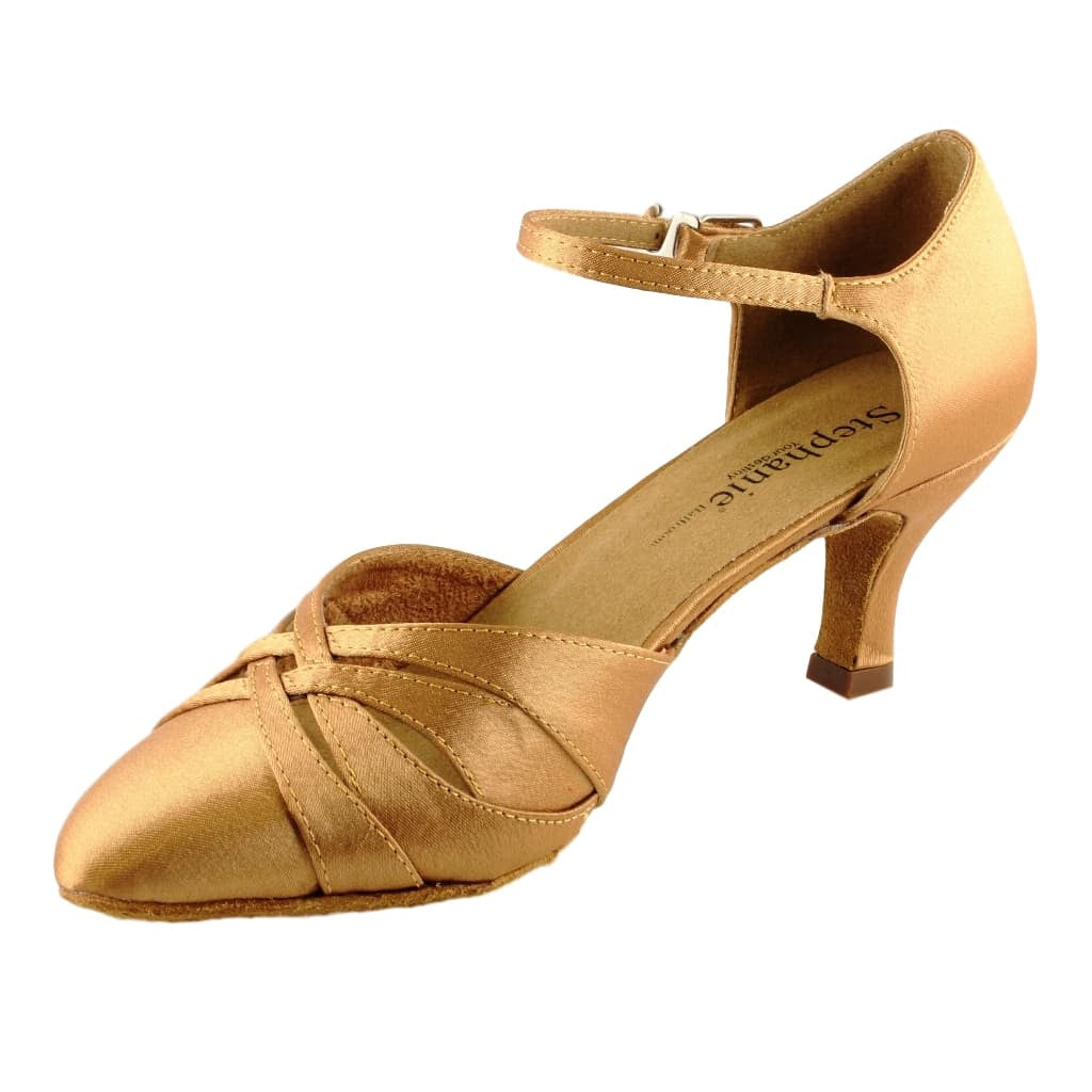 Stephanie Smooth Dance Shoes for Women, Model 15016-65, Heel 2""