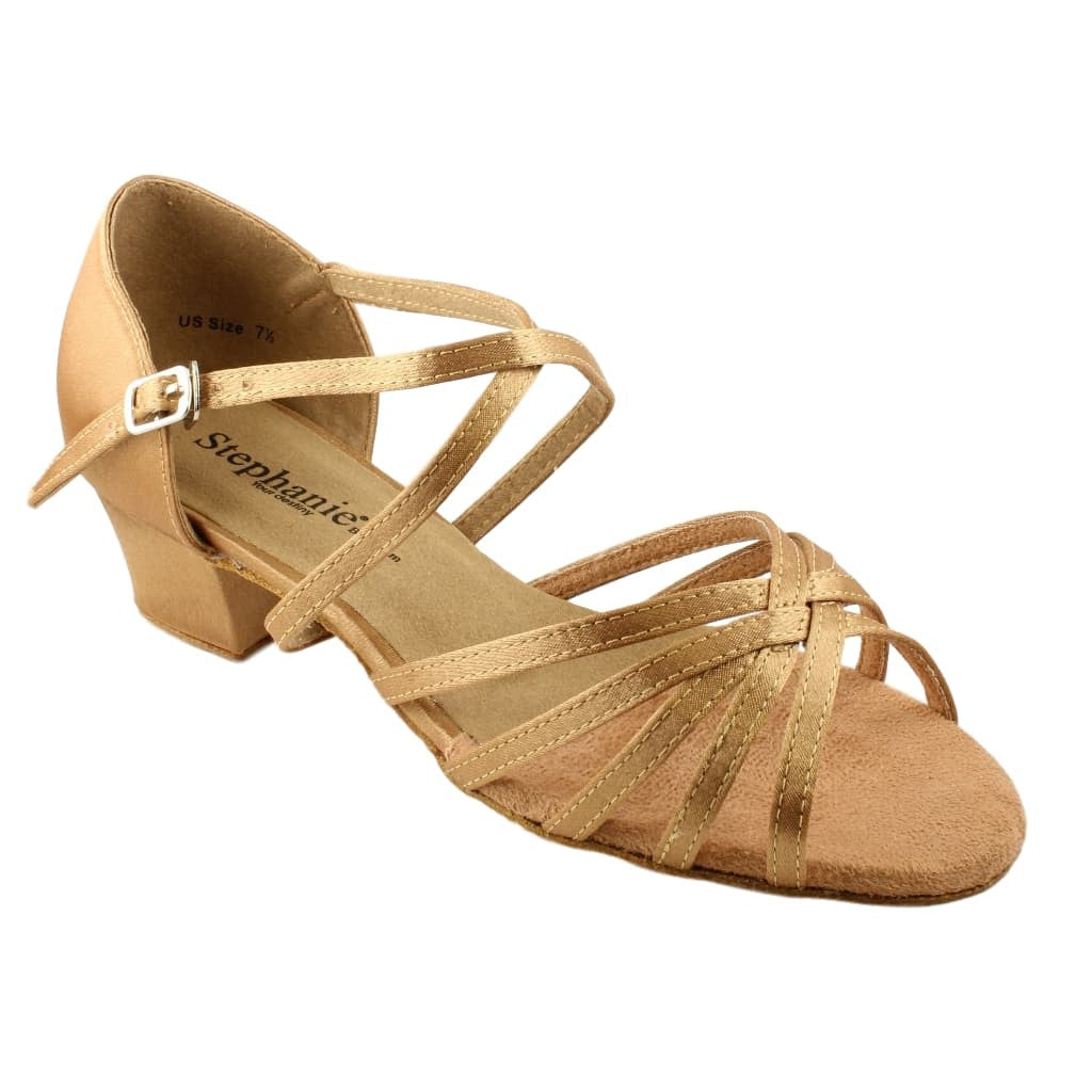 Latin Dance Shoes for Women, Model 16003-65X, Heel 1.5""