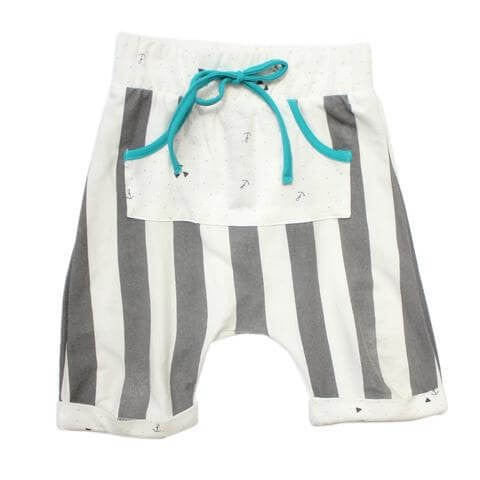 Cole Boy's Shorts in Epic Aqua by Miki Miette