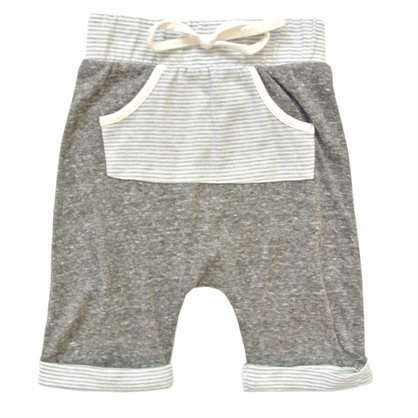 Cole Boy's Shorts in Rad Gray by Miki Miette