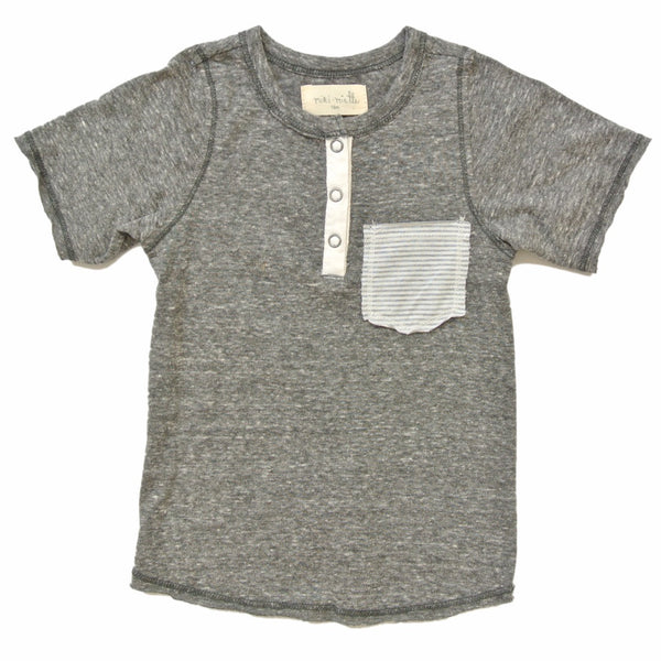 Boy's Jax T-Shirt in Rad by Miki Miette
