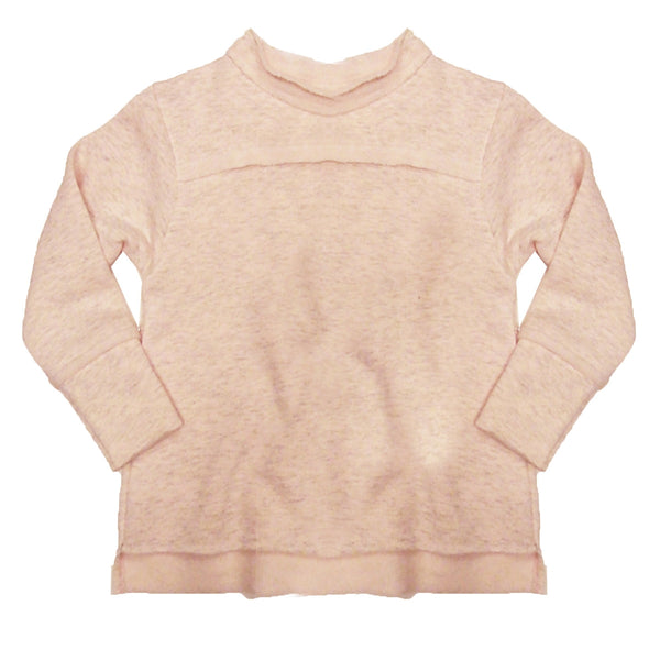 The Softest Sweatshirt Unisex Lightweight Sweatshirt for Kids by Nano in Soft Pink