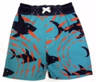Boy's Shark Swim Shorts