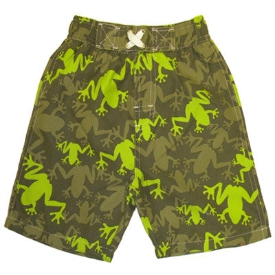 Boy's Swim Shorts Camo Frog *Prime