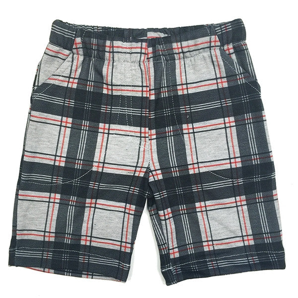 Knit Pattern Boy's Shorts