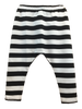 Harem Pants Boys and Girls Black and White Stripe Little Foot Clothing Co. at Banana & Bug