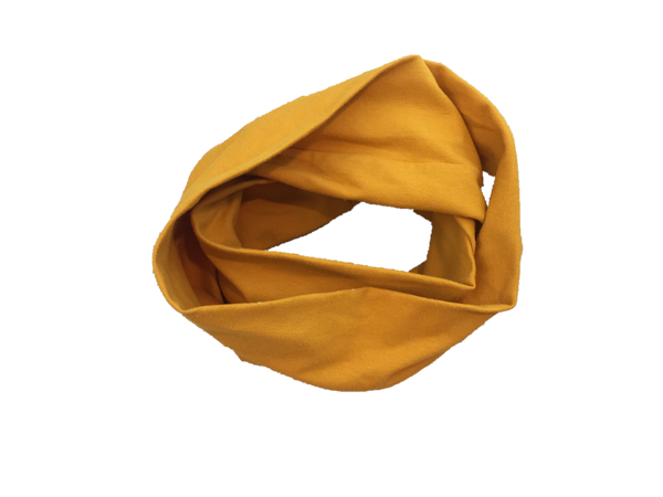 Kids Infinity Scarf Mustard Hand-Made in L.A. *Prime