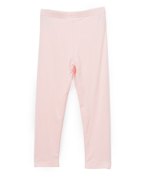 Organic Girl's Leggings in Strawberry *Prime