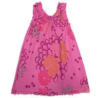 Made in the USA Girl Floral Fringe Dress by Nano Kids