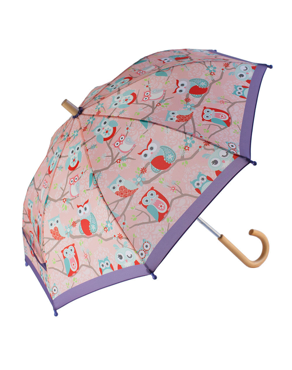 Children's Umbrella Perched Owls by Oakiwear