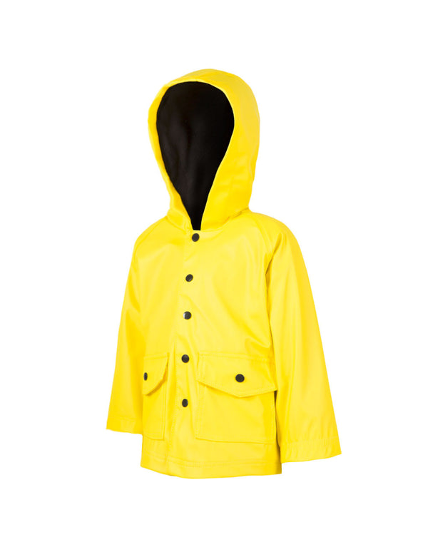 Children's Rain Coat Yellow and Black