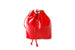 Convertible Leather Back/Backpack in Red