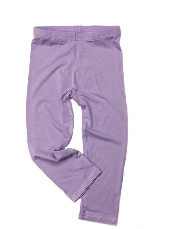 Organic Girl's Leggings in Orchid Purple *Prime