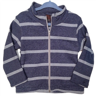 Boy's Navy Stripe Jacket