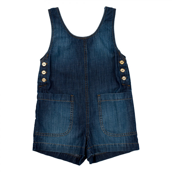 Explorer Girl's Denim Jumper by Anthem of the Ants