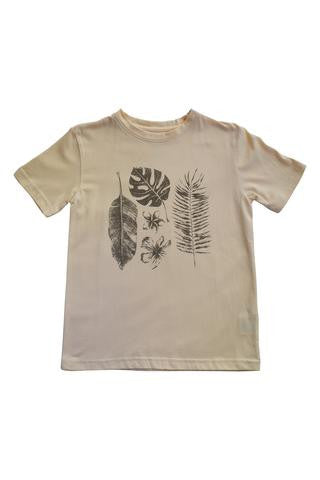 Nui Organics Boy's T-Shirt Tropical Sand