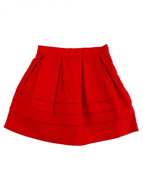 Red Corduroy Skirt *Outlet Item *Prime