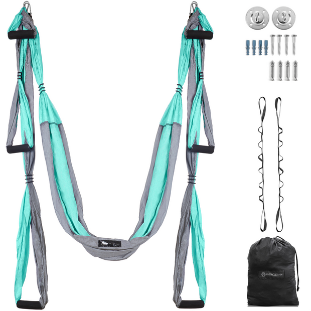 Yoga Swing Two-Tone Turquoise/Grey