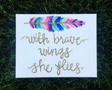 Brave Wings Decor