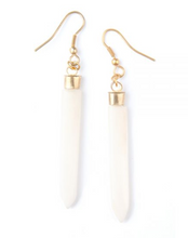 Pencil Bone Earrings
