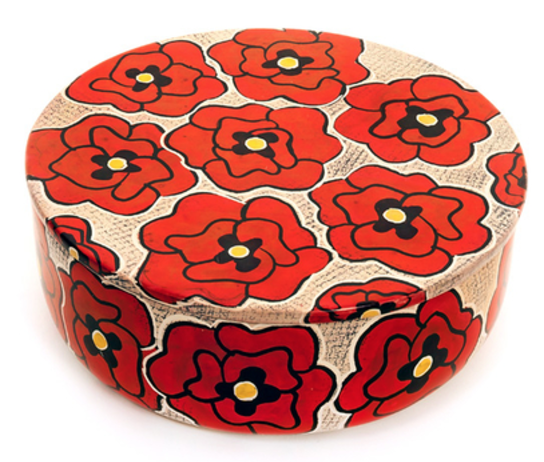 Poppy Trinket Box