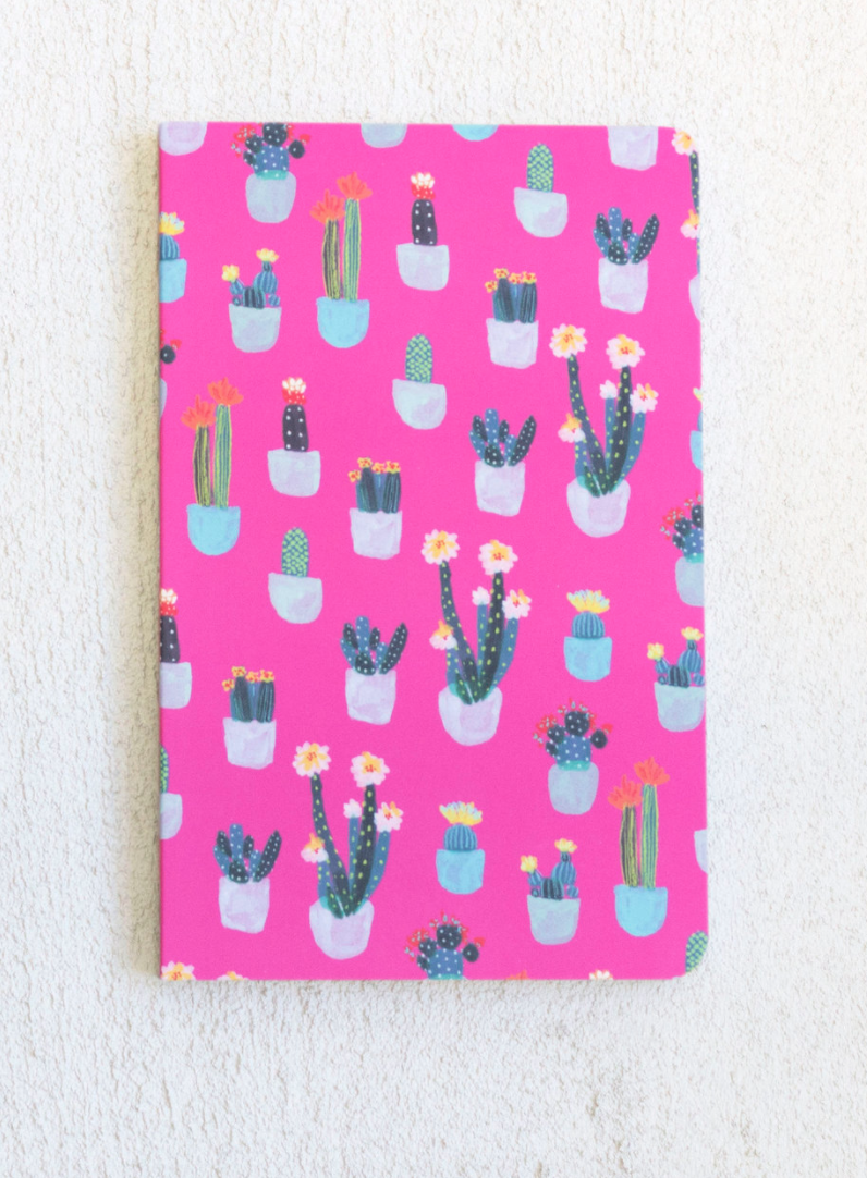 Prickly In Pink Notebook