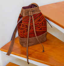 Earthy Boho Leather Bag