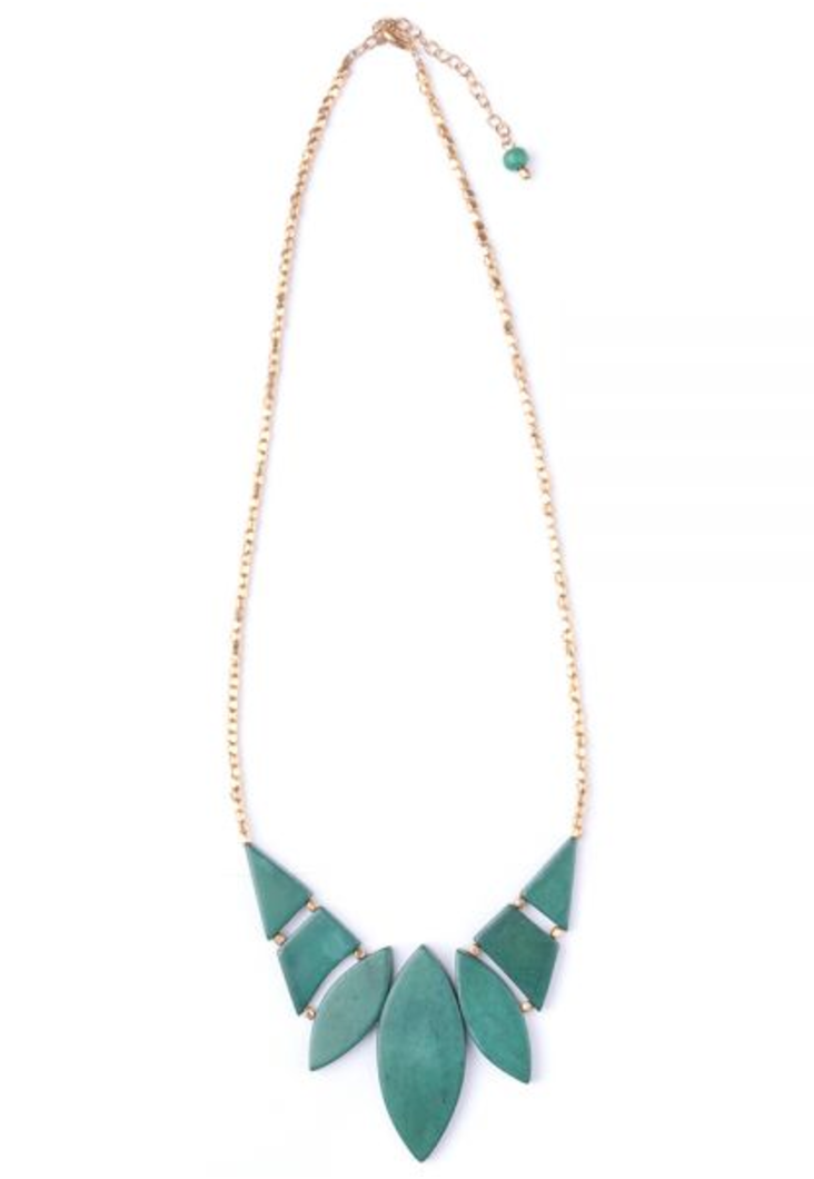 Green Indra Necklace