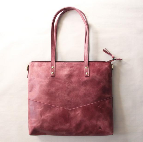 Mid-Sized Zipper Tote