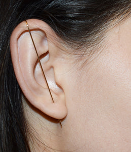 Mona Lisa Needle Earring
