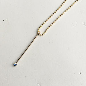 Ball Chain Pendant Necklace