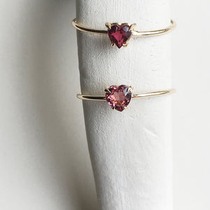 Heart Tourmaline Ring