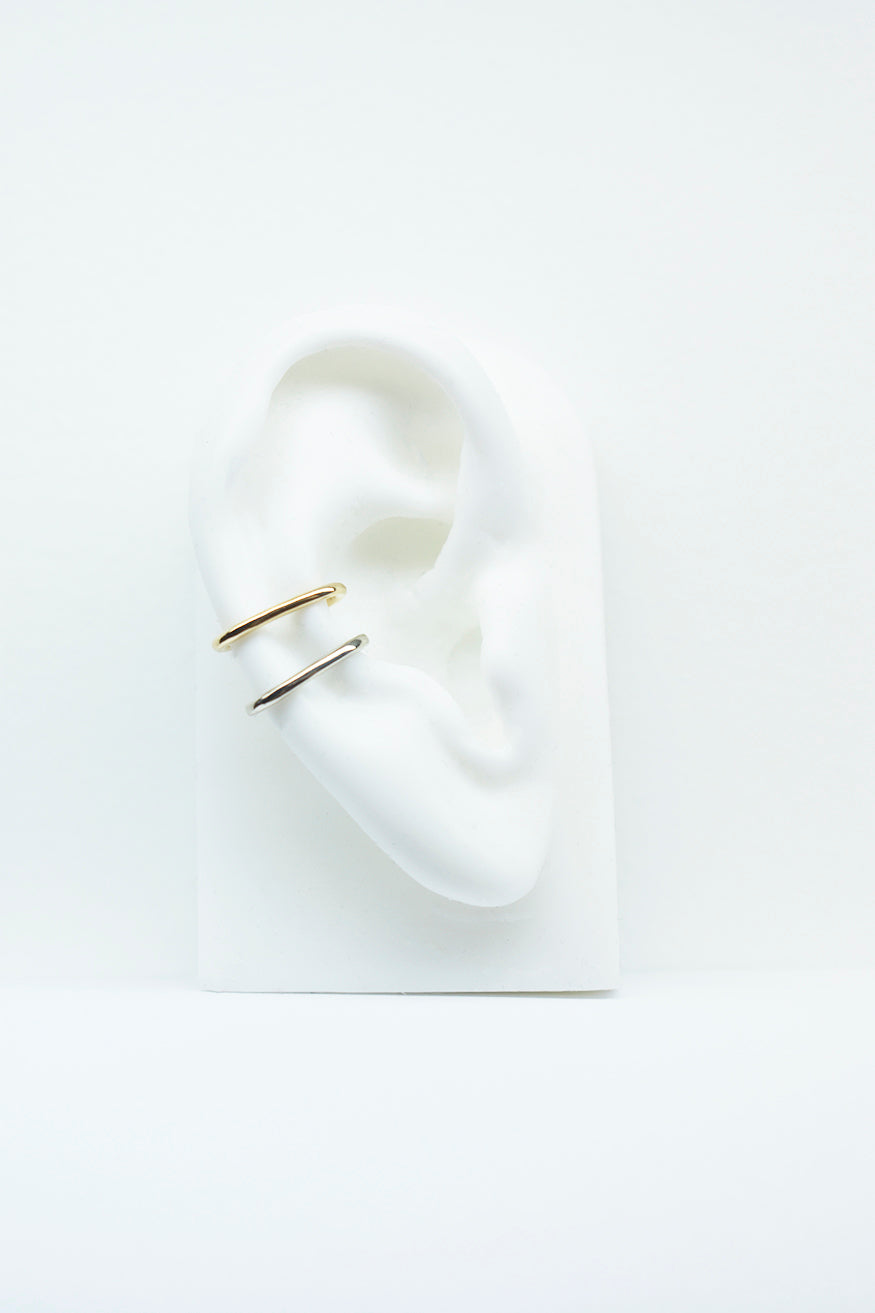 Mono Billy Cuff Gold Earring