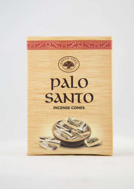 Green Tree Palo Santo Incense Cones