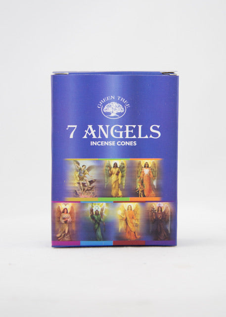 Green Tree 7 Angel Incense Cones