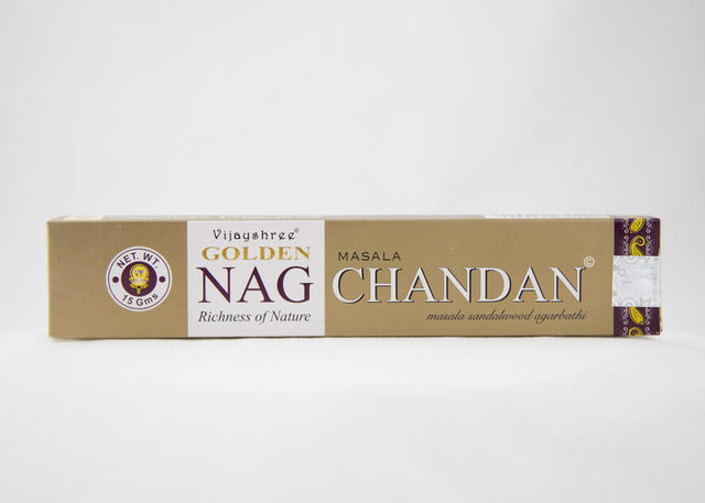Golden Nag Chandan Incense Sticks 15g