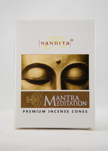 Mantra Meditation Incense Cones